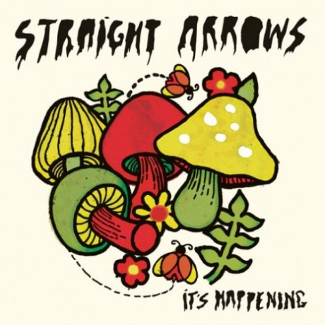Straight Arrows - It's Happening lp (Juvenile & Rice Is Nice)