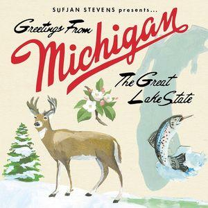 Stevens, Sufjan - Greetings From Michigan dbl lp (Asthm. Kitty)