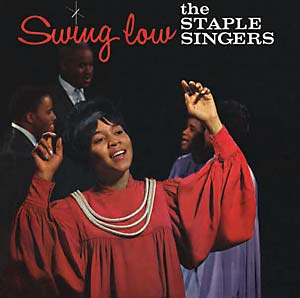 Staples Singers - Swing Low lp (Yeti/Mississippi )