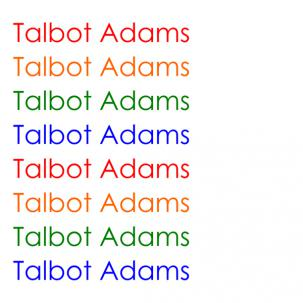 Talbot Adams - s/t lp (Spacecase Records)