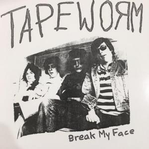 "Tapeworm - Break My Face 7"" (Death Vault)"