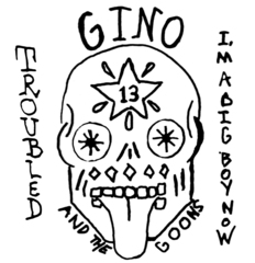 "Gino & The Goons - Troubled 7"" (Total Punk)"