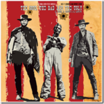 Ennio Morricone - The Good The Bad & The Ugly lp (AMS)