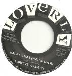 "Lorette Velvette/Al X Greene - War Is Over 7"" (Loverly Records)"