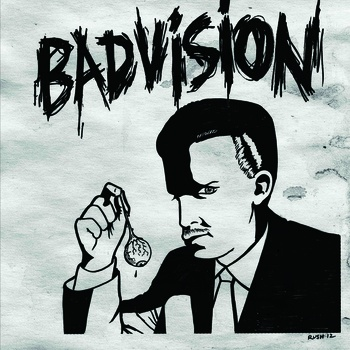 Bad Vision - s/t lp (Adagio/Every Night Is A Saturday Night)