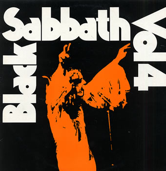 Black Sabbath - Vol 4 lp (Rhino)
