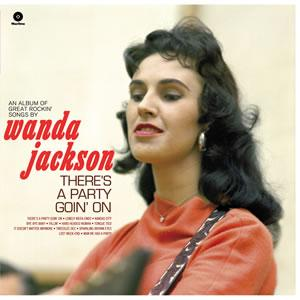 Wanda Jackson - There's A Party Going On lp (Wax Time)