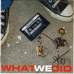 Saucers - What We Did cd (Grand Theft Audio)
