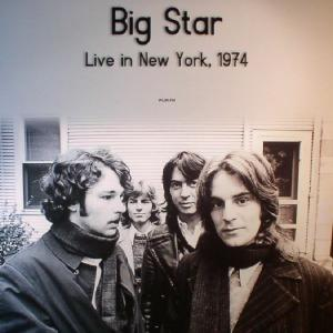Big Star - Live In New York 1974 WLIR-FM lp (DOL)