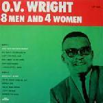 Wright,O.V. - 8 Men and 4 Women lp (Peacock Records)
