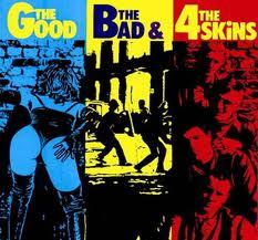 4 Skins - The Good The Bad & the 4 Skins lp (Radiation ITALY)