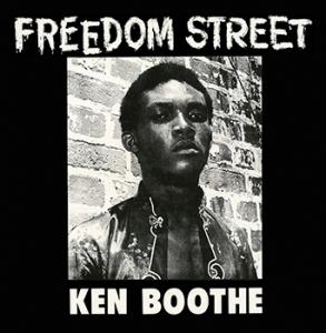 Ken Boothe - Freedom Street lp (Real Gone Music)