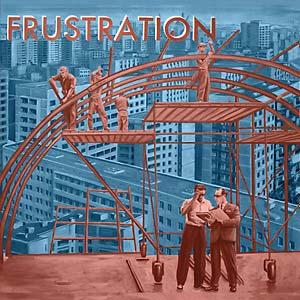 Frustration - Uncivilized lp (Born Bad)