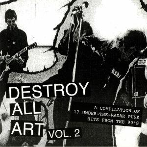Destroy All Art Volume 2 lp (Rock n Roll Parasite) - Click Image to Close