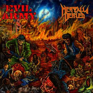 Evil Army / Mentally Defiled - Defiled Army Split lp (Destruktio