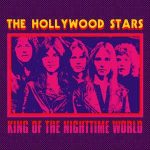"The Hollywood Stars - King of the Nightime World 7"" (Blank)"