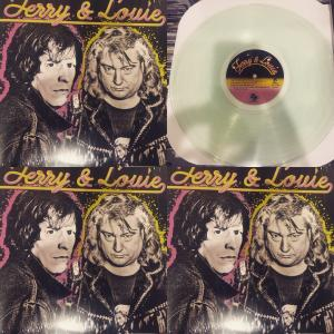 Terry & Louie- A Thousand Guitars lp (Tuff Break) CLEAR VINYL