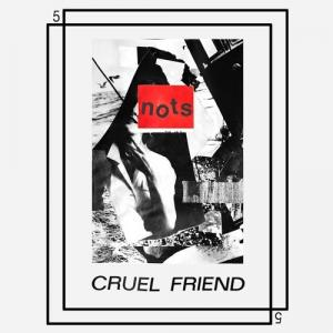 "Nots - Cruel Friend 7"" BLACK VINYL (Goner)"