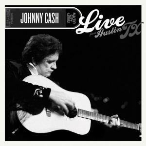 Johnny Cash - Live from Austin TX lp [New West]