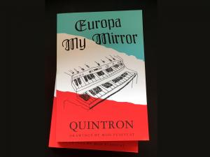 QUINTRON - Europa My Mirror book (Goner) - Click Image to Close