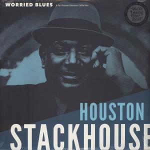 Houston Stackhouse - Worried Blues lp [Fat Possum]