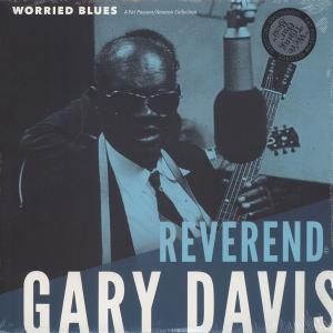 Reverend Gary Davis - Worried Blues lp [Fat Possum]