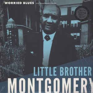Little Brother Montgomery - Worried Blues lp [Fat Possum]