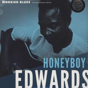 Honeyboy Edwards - Worried Blues lp [Fat Possum]