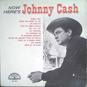 Johnny Cash - Now Here's Johnny Cash lp (DOL)