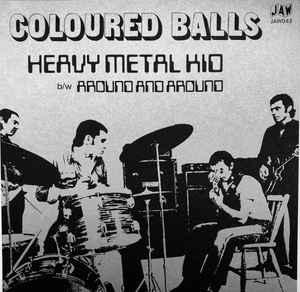 Coloured Balls - Heavy Metal Kid 7'' [Just Add Water]