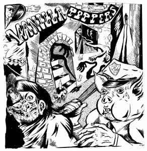 Vanilla Poppers - s/t lp (lumpy records)
