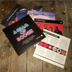 Lee Moore - A Gram Of Boogie 5 LP box set (Past Due)