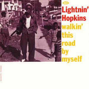 Lightnin' Hopkins - Walkin' This Road By Myself lp (Ace Uk)