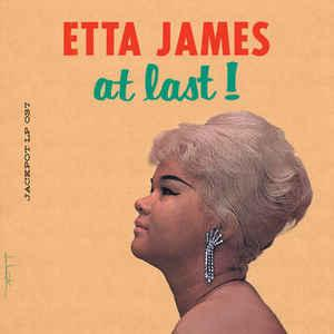 Etta James - At Last! lp (Jackpot Records)