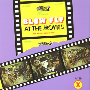Blowfly - At The Movies lp (Weird World Records)