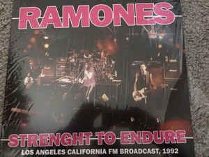 Ramones - Strength To Endure lp (Bad Joker)