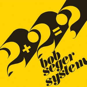 "Bob Seger System - 2+2=? 7"" (Third Man Records)"