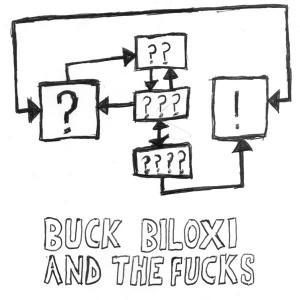 "Buck Biloxi & the Fucks - Obama Is A Cyborg 7"" (Red Lounge)"