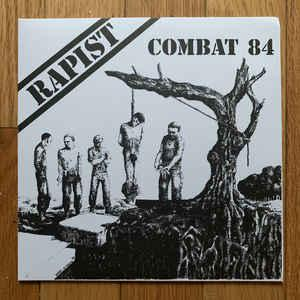 "Combat 84 - Rapist 7"" [Splattered!]"