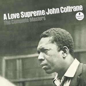 John Coltrane - Complete Masters Love Supreme lp (Impulse)