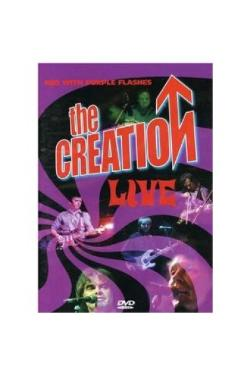 The Creation - Live Red With Purple Flashes dvd (Cherry Red)