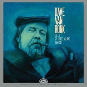Dave Van Ronk - Live at Sir George Williams lp (Justin Time Rec)