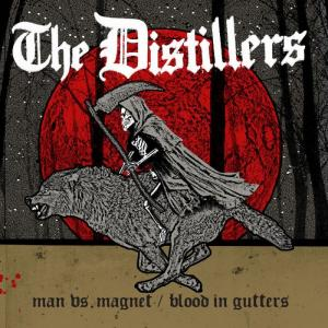 "Distillers - Man Vs. Magnet 7"" [Third Man]"