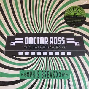 Doctor Ross - Memphis Breakdown lp (ORG Music)