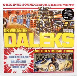 Malcolm Lockyer/Bill McGuffie - Dr Who & the Daleks lp (Silva)