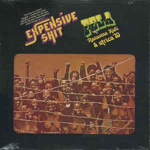 Fela Ransome Kuti & Africa 70 - Expensive Shit lp (Knitting Fact