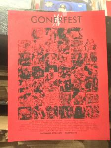 Gonerfest 15 Poster NON-US Shipping Included!!!!