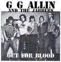 "GG Allin - Out For Blood 7"" (TPOS Records)"