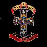 Guns N' Roses - Appetite For Destruction lp (Geffen)