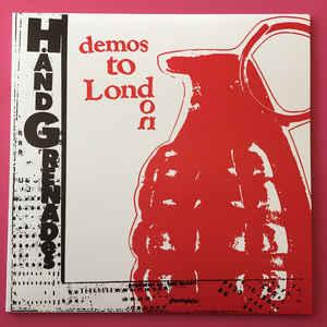 "Hand Grenades - demos to London 12"" (Last Laugh)"